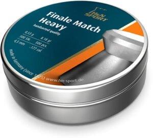 Пули пневм H&N Finale Match Heavy, 4,49 мм , 0.53 г, 500 шт/уп