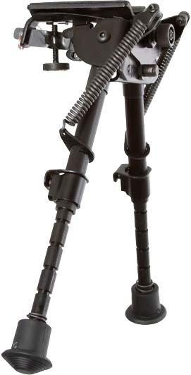 Сошки Harris Bipod S-BRM на антабку. 15,2-22,9 см. Шарнирная база. Подпружиненные ножки