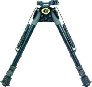 Сошки TipTop S9 Tactical (шарнирная база) длина – 22,8-33 см