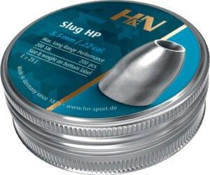 Пули пневм H&N Slug HP, 5,51 мм 1.36 g/ 21gr , 200шт/уп