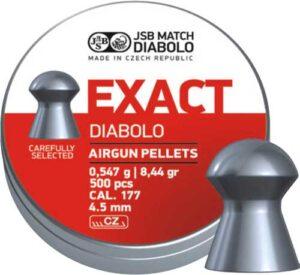 Пули пневм JSB Diablo Exact 4,51 мм 0,547 гр. (500 шт/уп)