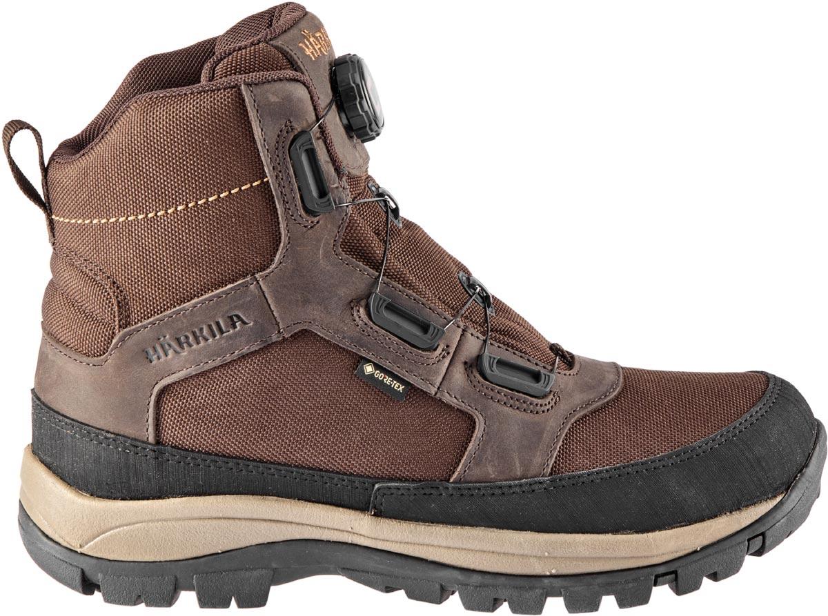 Ботинки Harkila Chase GTX SMU 48 ц:тёмно-коричневый