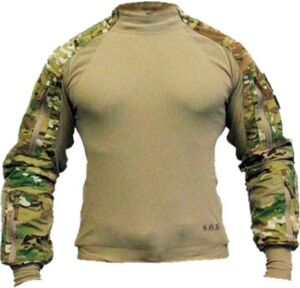 Рубашка SOD Spectre DA Combat Shirt. Размер – 2XL. Цвет – multicam/olive