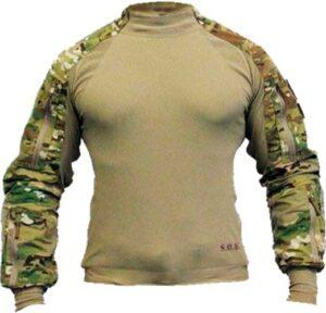 Рубашка SOD Spectre DA Combat Shirt. Размер – 3XL. Цвет – multicam/olive