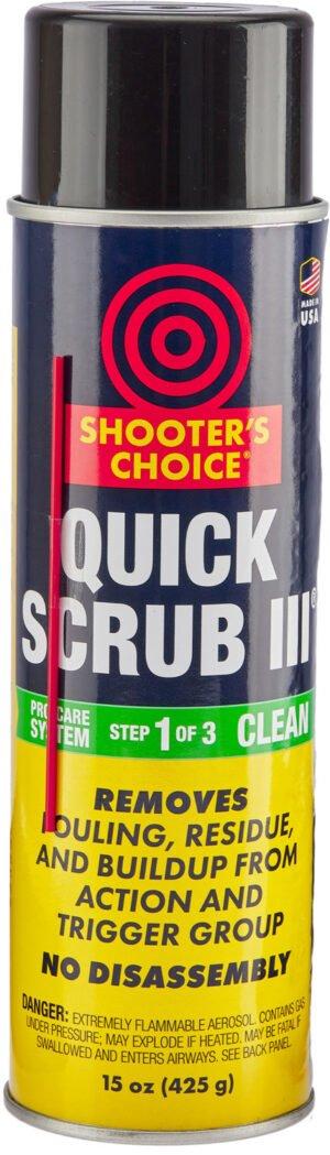 ср-во д/чистки Shooters Choice Quick Scrub 15 oz(аэрозоль, удаляет остатк