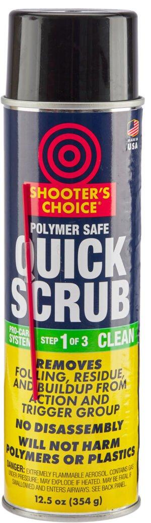 Ср-во д/чистки Shooters Choice Polymer Safe Quick Scrub 12 oz, удаляет загрязнения и остатки смазки, не вредит полимерн. поверхн.