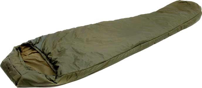 Спальник Snugpak Tactical 2 молния слева (зелёный)