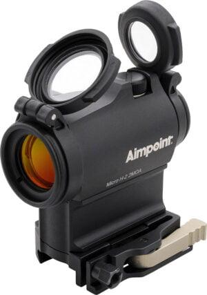 Прицел Aimpoint Micro H-2 2МОА, H 39 mm, LRP mount Picatinny/с защитными крышками