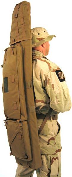 Чехол BLACKHAWK! Long Gun Sniper Drag Bag. Длина – 130 см. Цвет – оливковый