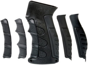 Рукоять САА 6 Piece Interchangeable Finger Groove для АК47/ 74 (с 6 сменными накладками; отсек под батарейки)