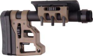 Приклад MDT Skeleton Carbine Stock 9.75''. Материал – алюминий. Цвет – песочный