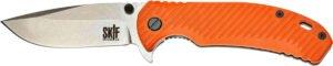 Нож SKIF Sturdy II SW Orange, сталь – 9Cr18MoV, рукоятка – G10, общая длина – 223 мм, длина клинка – 96 мм