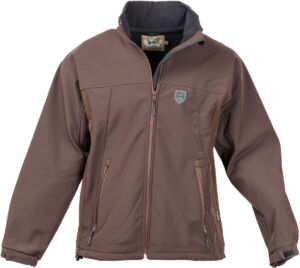 Куртка Unisport Soft-Shell U-Tex M ц:коричневый