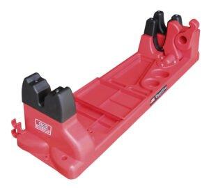 Подставка MTM Gun Vise для чистки оружия (с органайзером)- красный