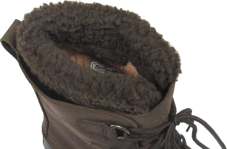 Ботинки Seeland Grizzly Pac 10. Размер – 12. Цвет – коричневый