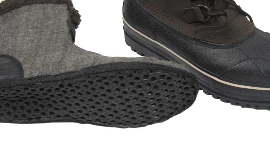 Ботинки Seeland Grizzly Pac 10. Размер – 13. Цвет – коричневый