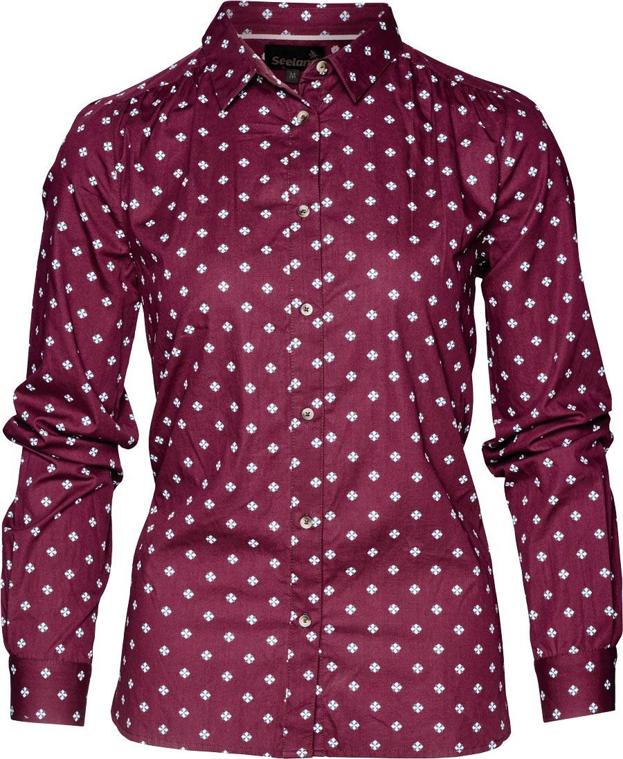 Блуза Seeland Erin Lady M ц:бордовый