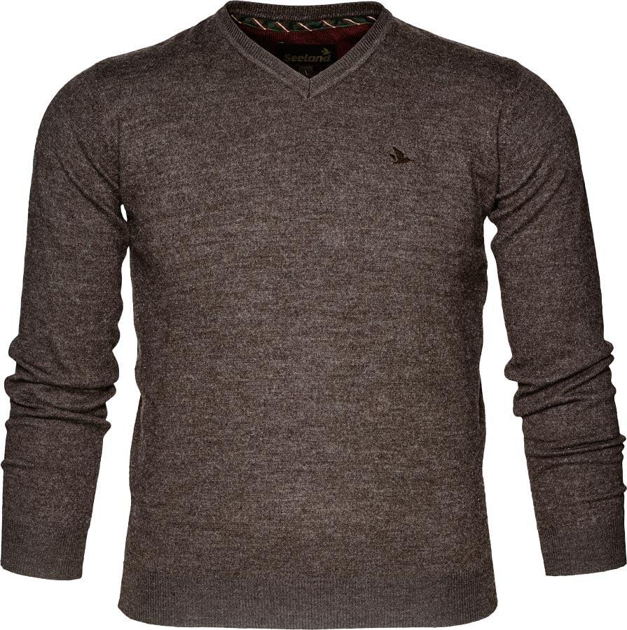 Пуловер Seeland Compton XL ц:коричневый