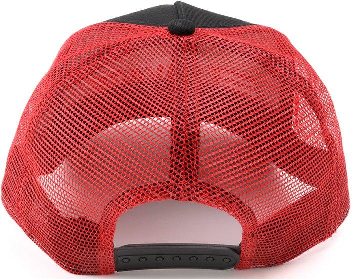 Кепка Savage Trucker hat W/RED Savage logo ц:красный/черный