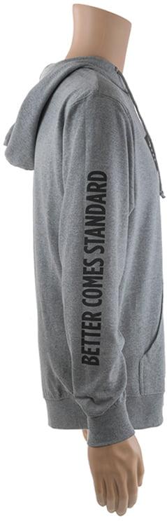 Реглан Savage Long sleeve hooded T-Shirt M с капюшоном ц:серый