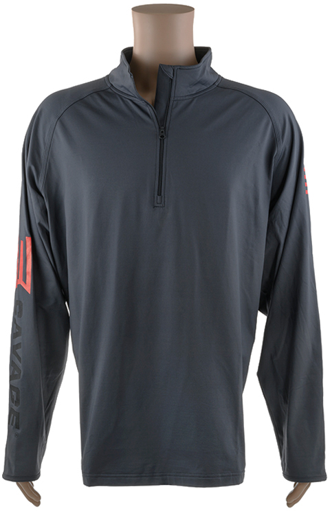 Пуловер Savage L с замком-молнией ц:серый