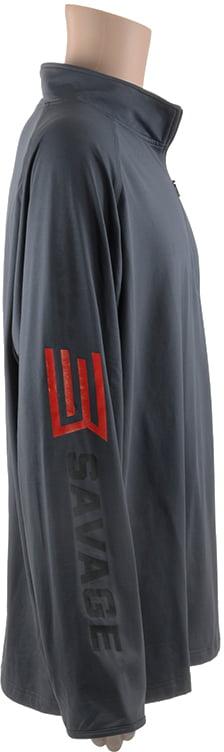 Пуловер Savage XL с замком-молнией ц:серый