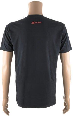 Футболка Savage Short sleeve T-Shirt/Savage Flag L ц:черный