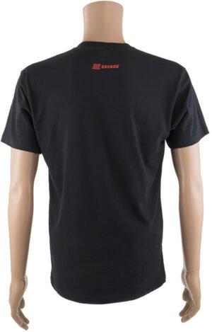 "Футболка Savage Short sleeve T-Shirt/RED ""I am Savage"" design L ц:черный"