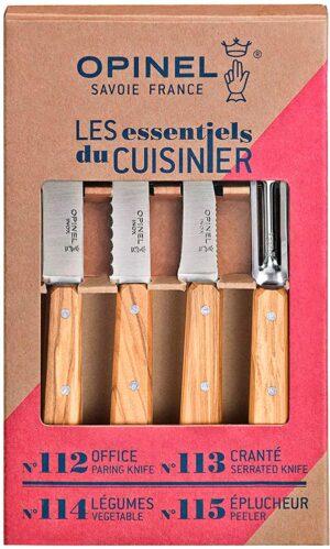 Набор ножей Opinel Les Essentiels Olive