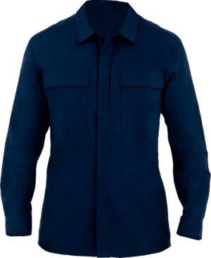 Рубашка First Tactical BDU 51% polyester/49% cotton. Размер – 2XL. Цвет – темно-синий