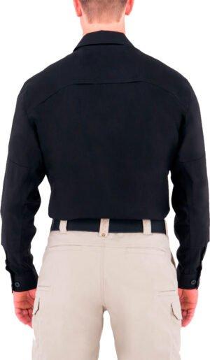 Рубашка First Tactical BDU 51% polyester/49% cotton. Размер – 2XL. Цвет – черный