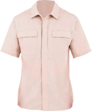 Тенниска First Tactical 51% polyester/49% cotton. Размер – М. Цвет – хаки