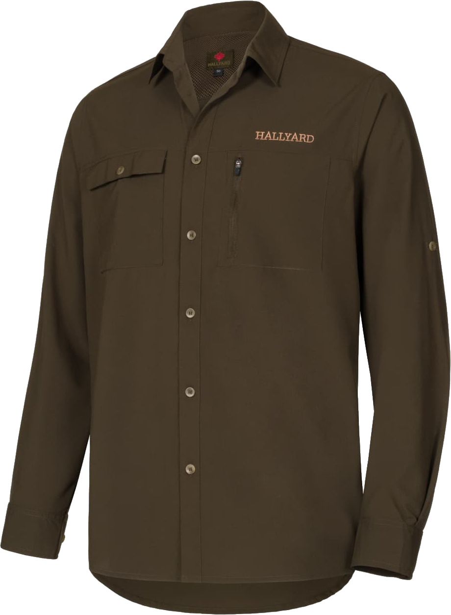 Рубашка Hallyard Mosquito 46 (XS) ц:зеленый