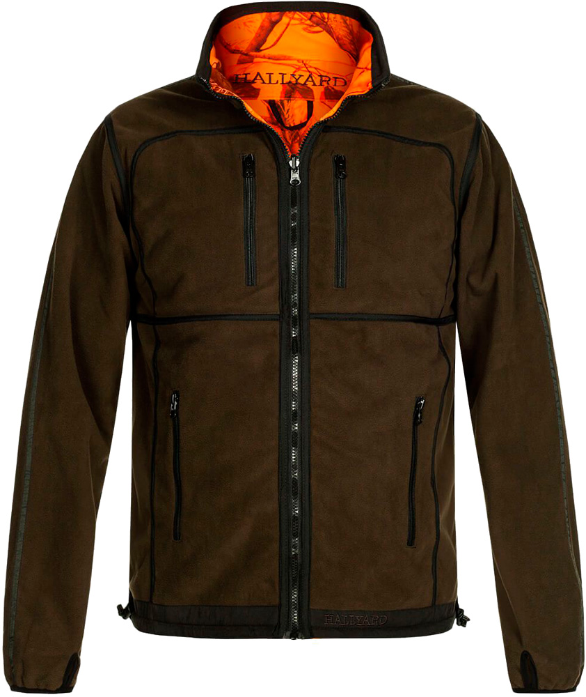 Куртка Hallyard Revels 2-001 4XL ц:зеленый/оранжевый