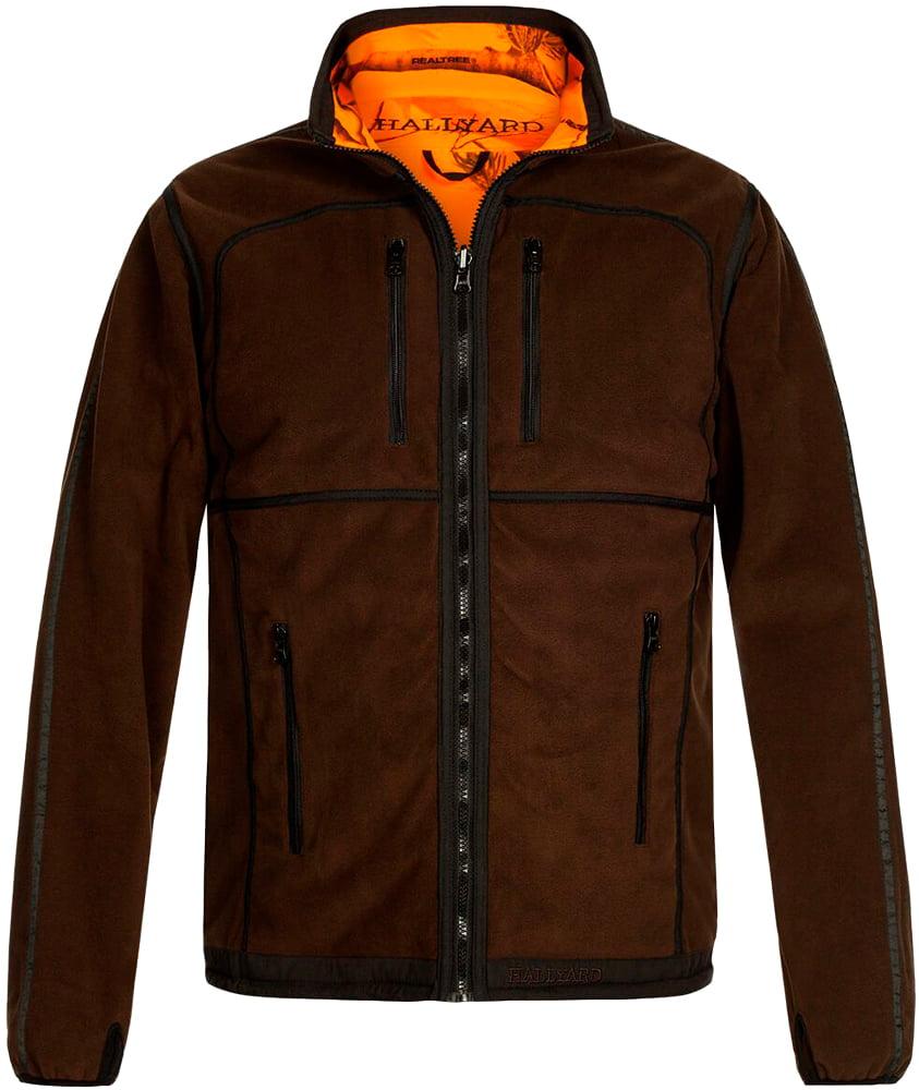 Куртка Hallyard Revels 2-002 4XL ц:коричневый/оранжевый