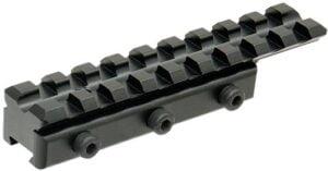 База крепления Leapers UTG AIRGUN 11 мм – Weaver/Picatinny. L 100 мм