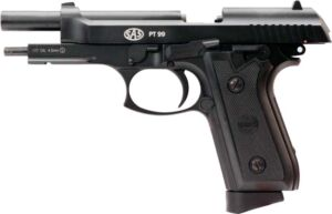 Пистолет пневматический SAS (Taurus PT99) Blowback. Корпус – металл, 4,5 мм, 100 м/с