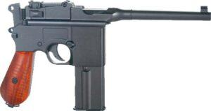Пистолет пневматический SAS Mauser M712 Blowback, Корпус – металл, Возможность стрельбы full auto. 4,5 мм