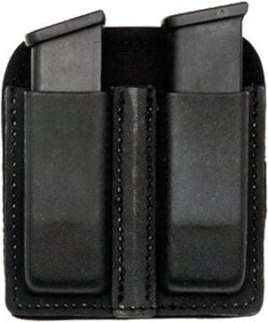 Подсумок Front Line KNG 2105 для двух пистолетных магазинов. Материал – Kydex. Цвет – черный