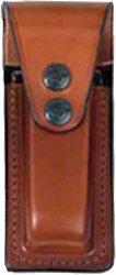 Подсумок Front Line FL 2286 для пистолетного магазина. Материал – кожа. Цвет – коричневый