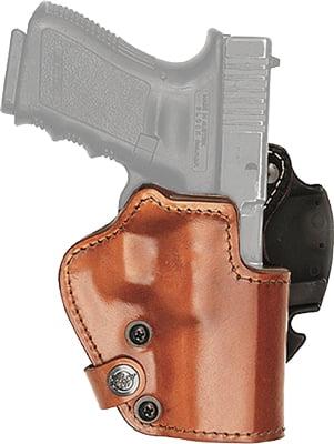 Кобура Front Line LKC для револьвера 2″. Материал – Kydex/кожа/замша. Цвет – коричневый