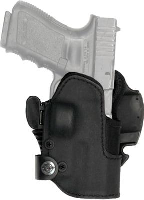 Кобура Front Line KNGxxSR с замком для Glock 19/23/32. Материал – Kydex. Цвет – черный