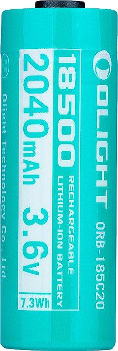 Аккумуляторная батарея Olight ORB-185C20 2040 mAh(18500) для Odin mini