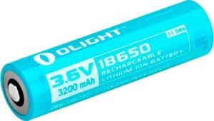 Аккумуляторная батарея Olight 186C32 3200mAh для S30R II/S2R/S2R II