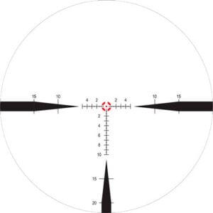 Прицел Nightforce NX8 1-8×24 F1 ZeroS 0.2Mil сетка FC-Mil с подсветкой
