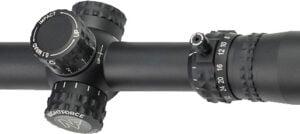 Прицел Nightforce NX8 4-32×50 F1 ZeroS Dig PTL. Сетка Mil-C с подсветкой