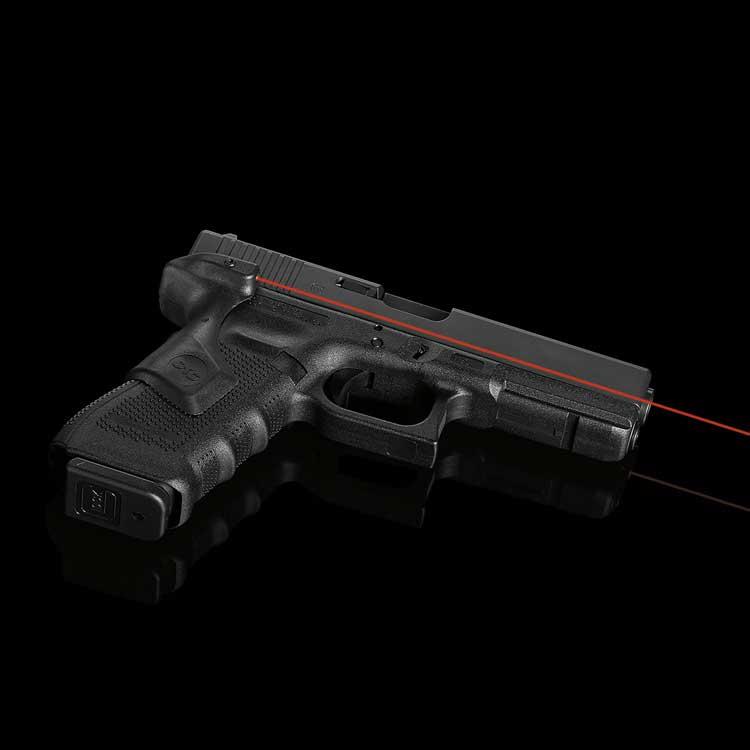 Лазерный целеуказатель Crimson Trace LG-850 на рукоять для GLOCK G4 17/34. Цвет – Красный