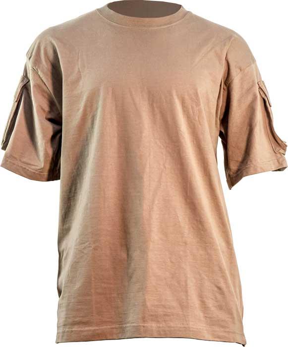 Футболка Skif Tac Tactical Pocket T-Shirt. Размер – L. Цвет – Coyote