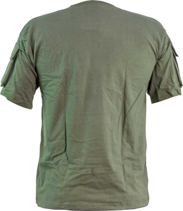 Футболка Skif Tac Tactical Pocket T-Shirt. Размер – L. Цвет – Olive