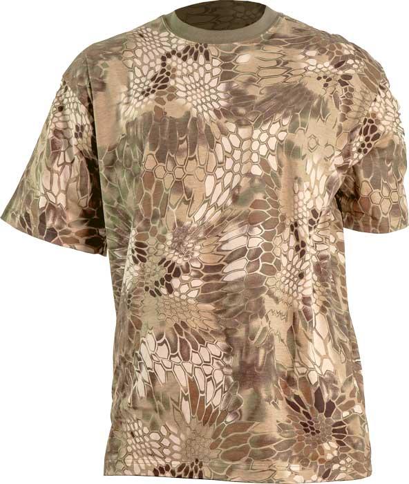 Футболка Skif Tac T-Shirt. Размер – M. Цвет – Kryptek Khaki
